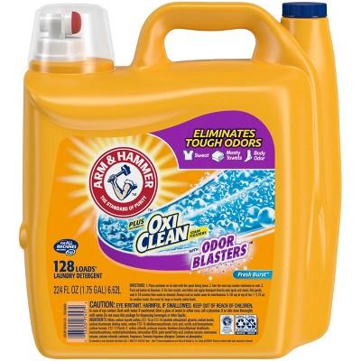 Arm & Hammer Odor Blaster Laundry Detergent - 224 fl oz