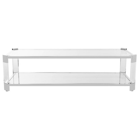 Coffee Table Clear - Safavieh - image 1 of 4