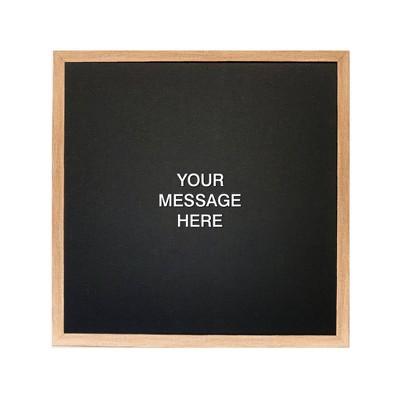 """16"""" x 16"""" Letterlove Magnet Board Wall Art White - Petal Lane"""