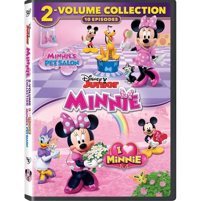 MMCH Minnie's 2 MV: Pet Salon and I Heart Minnie (DVD)