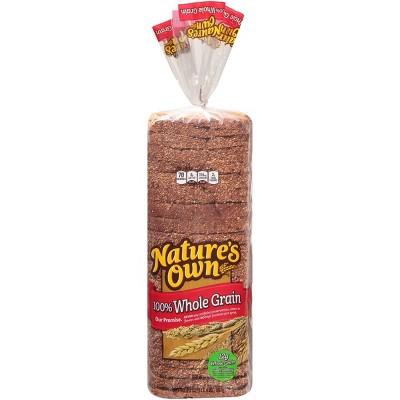 Nature's Own 100% Whole Grain Bread - 20oz