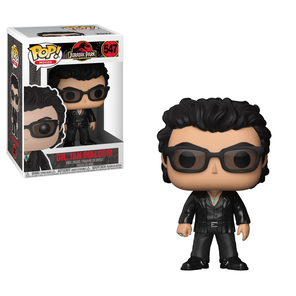 Image of Funko POP! Movies: Jurassic Park 25th Anniversary - Dr. Ian Malcolm - Minifigure