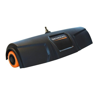 Generac 4000 PSI 18 Inch 5 Nozzle Rolling Power Broom Pressure Washer Attachment