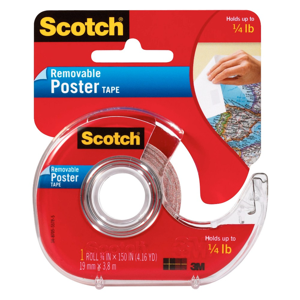 Image of Removable Poster Tape - Scotch