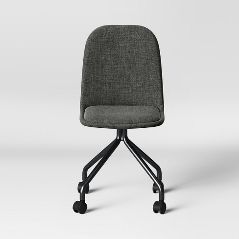 Upholstered Rolling Desk Chair - Room Essentials™ - image 1 of 2