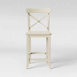 "24"" Litchfield X-Back Counter Stool - Threshold™"