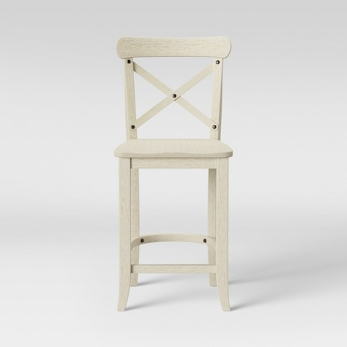 Stupendous 24 Litchfield X Back Counter Stool Threshold Pdpeps Interior Chair Design Pdpepsorg