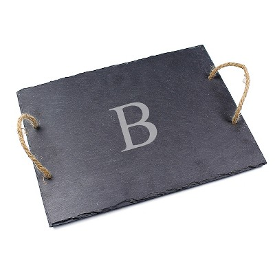 Cathy's Concepts Personalized Slate Serving Board - B