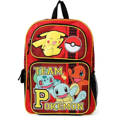 Fashion Accessory Bazaar LLC Pokemon Team Pokemon Red 16 Inch Backpack