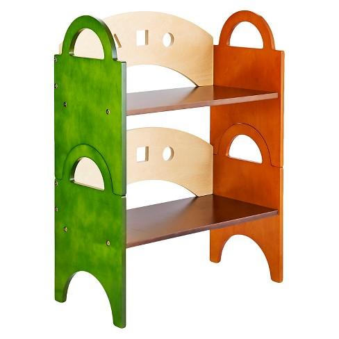 Kids Stacking Bookshelf