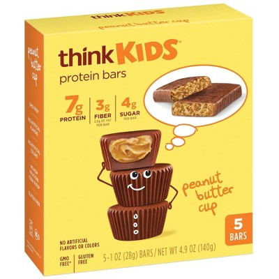 think! Kids Peanut Butter Bars - 5ct