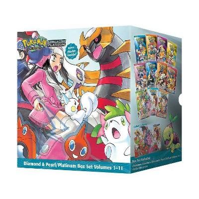 Pokémon Adventures Diamond & Pearl / Platinum Box Set - (Pokemon) by  Hidenori Kusaka (Mixed Media Product)