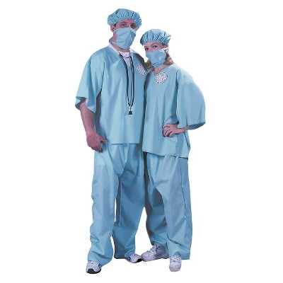 Adult Couples' Doctor Costumes Set of 2 One Size