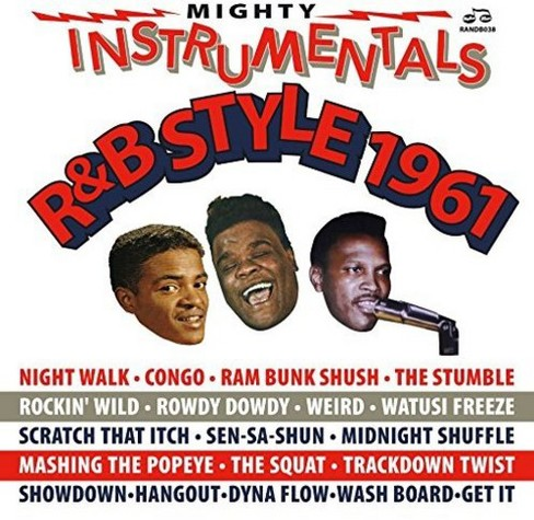 Various - Mighty Instrumentals R&b-style 1961 (CD) - image 1 of 1