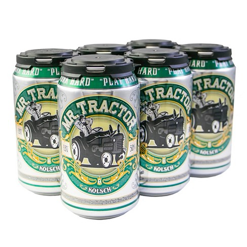 Crooked Can® Mr Tractor Krolsch - 6pk / 12oz Cans - image 1 of 2