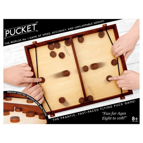 Pucket® - The Frantic, Fast-Paced Flying Puck Game - image 1 of 2