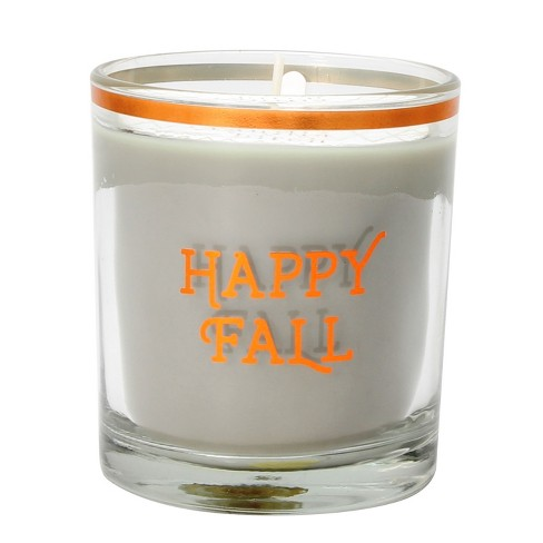 Decaled Glass Candle - Happy Fall - 7.9oz - image 1 of 1