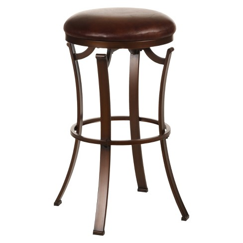 Kelford Backless 26 Counter Stool Metalantique Bronze Hillsdale