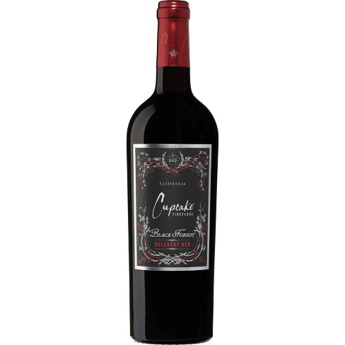 Cupcake Black Forest Decadent Red Blend Wine - 750ml Bottle - image 1 of 2