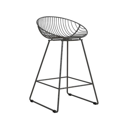 Ellis Wire Counter Height Barstool - CosmoLiving by Cosmopolitan