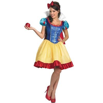 Disney Princess Disney Princess Snow White Sassy Deluxe Adult Costume