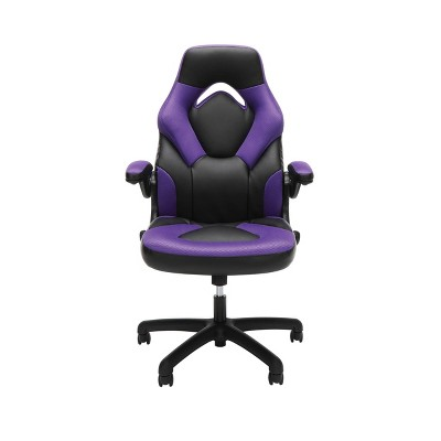 Adjustable Leather/Mesh Gaming/Office Chair with Wheels - OFM