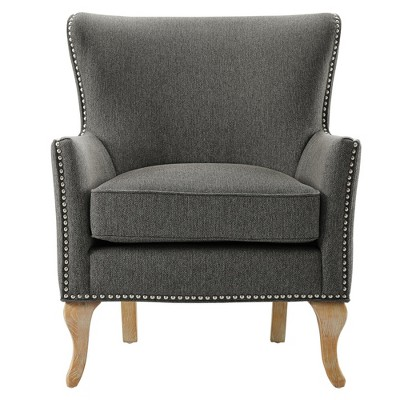 Kerrie Accent Chair Charcoal - Dorel Living