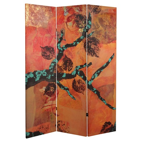 Autumn Collage Room Divider - Oriental Furniture - image 1 of 1