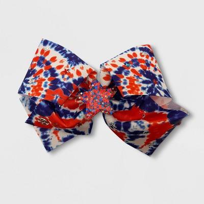 Girls' JoJo Siwa Patriotic Tie-Dye Bow