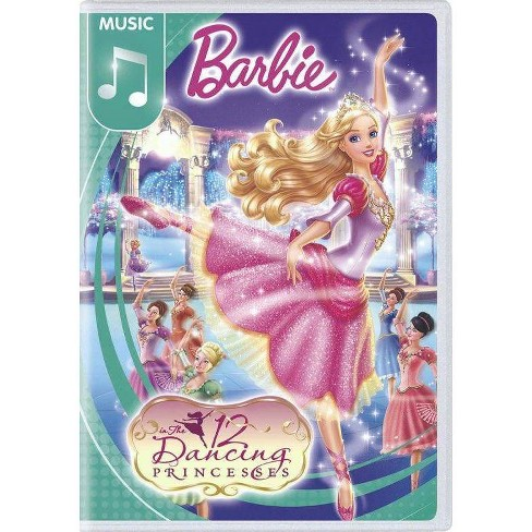 Barbie in The 12 Dancing Princesses (DVD) - image 1 of 1