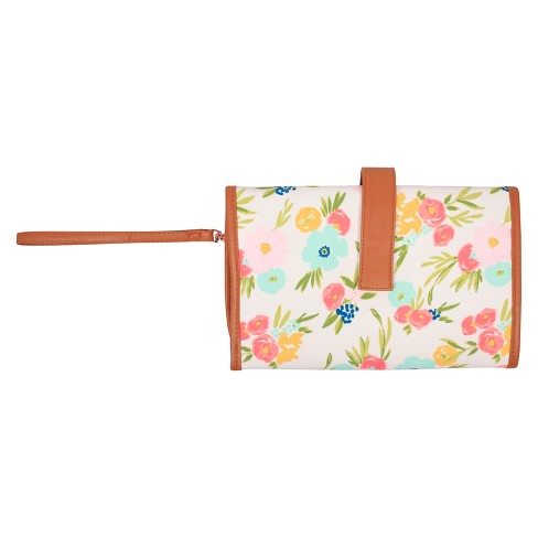 Floral Changing Pad Clutch - Cloud Island™ - image 1 of 3