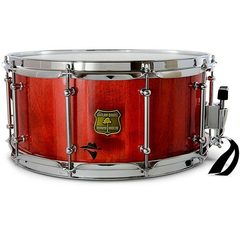 OUTLAW DRUMS Bandit Series Snare Drum with Chrome Hardware - image 1 of 2