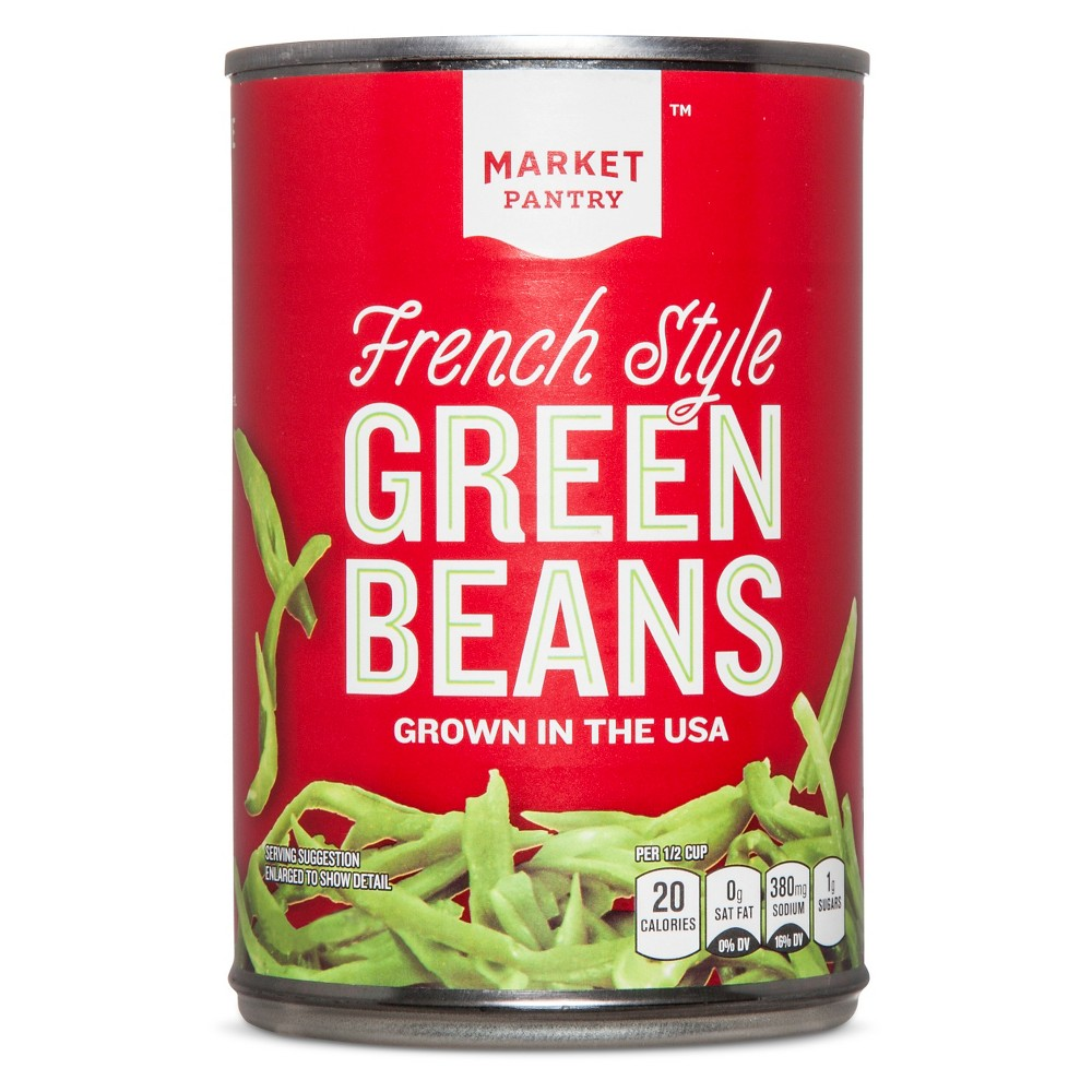 French Style Green Beans 14.5 oz - Market Pantry