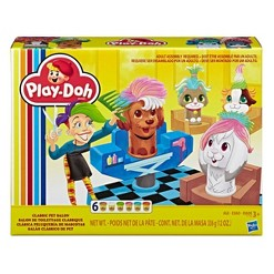 Play-Doh Classic Pet Salon Playset with 6 Non-Toxic Colors