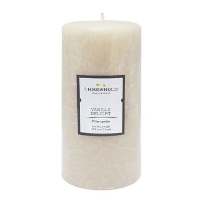 Pillar Candle Vanilla Delight