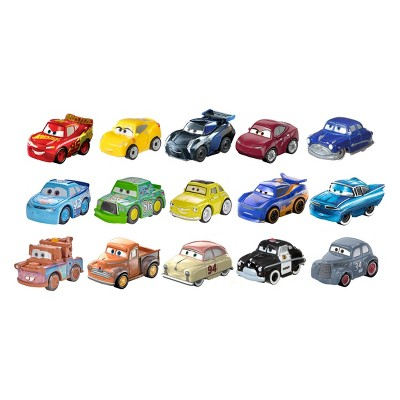 Disney Pixar Cars Mini Racers 15pk