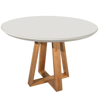 """45.27"""" Duffy Round Dining Table Off White - Manhattan Comfort"""