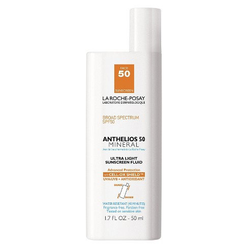 La Roche-Posay Anthelios Mineral Face Sunscreen - SPF 50 - 1.7 fl oz - image 1 of 3