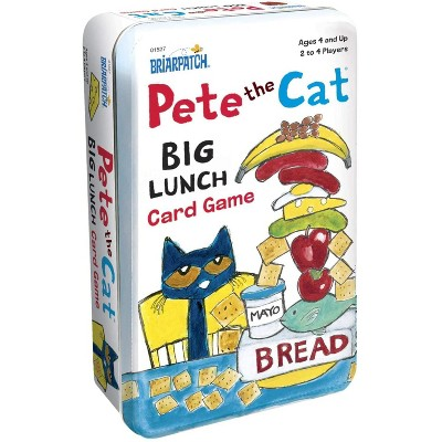 University Games Pete the Cat Big Lunch Kids Card Game | For 2-4 Players