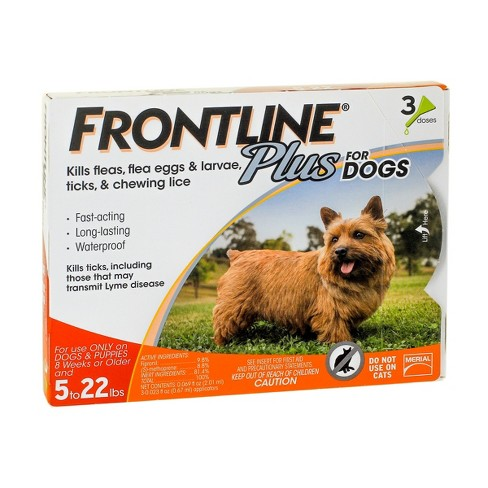 Frontline Plus Pet Insect Treatment for Dogs - 3 doses - image 1 of 2