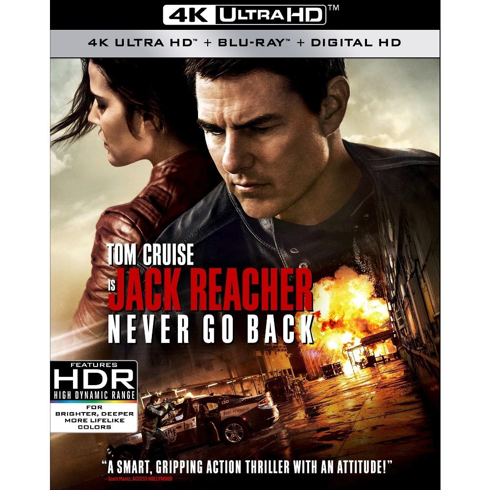 Jack Reacher: Never Go Back (4K/Uhd + Blu-ray + Digital)