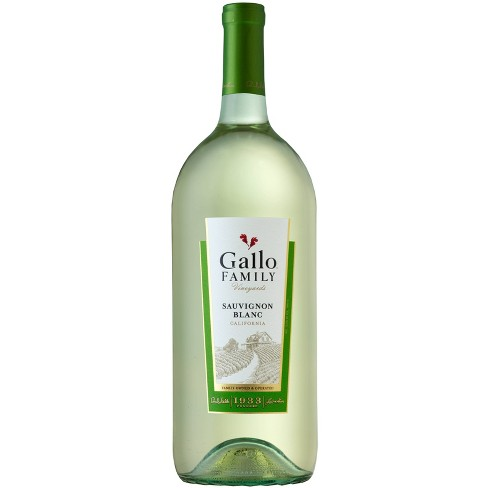 Gallo Sauvignon Blanc White Wine - 1.5L Bottle - image 1 of 2