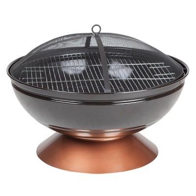 Degano Round Fire Pit - Fire Sense