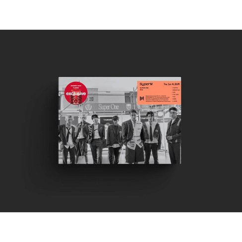 SuperM - The 1st Album 'Super One' (Group Version) (Target Exclusive, CD) - image 1 of 1