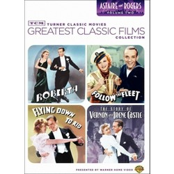TCM Greatest Classic Films Collection: Astaire and Rogers, Vol. 2 [4 Discs]