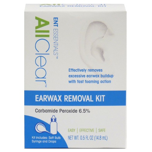 ENT Essentials All Clear Earwax Removal Kit - 0.5oz - image 1 of 1