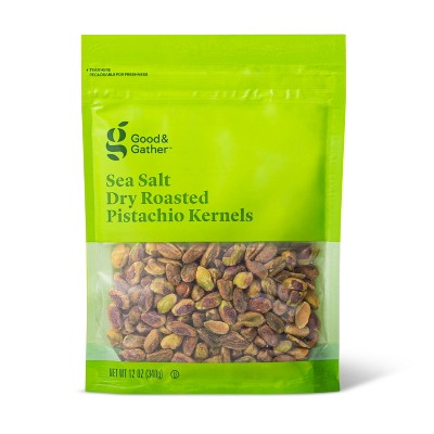 Sea Salt Roasted Pistachio Kernels - 12oz - Good & Gather™