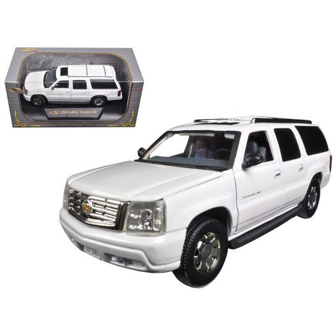 2004 Cadillac Escalade ESV Pearl White 1/32 Diecast Car Model by Signature Models - image 1 of 1