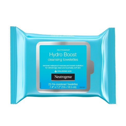 Neutrogena Hydroboost Cleansing Wipes - 25ct - image 1 of 4