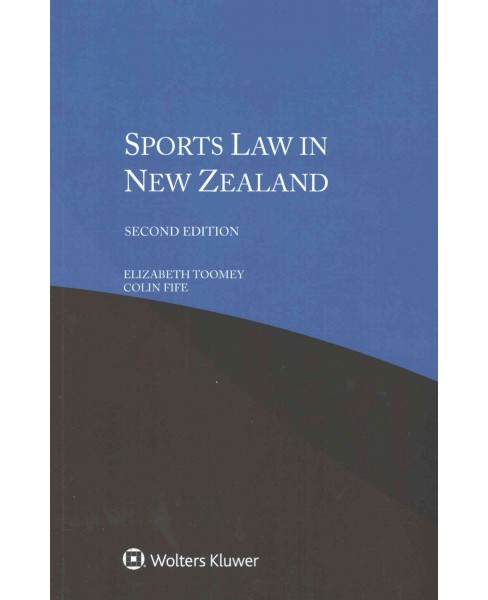 Sports Law in New Zealand (Paperback) (Elizabeth Toomey) - image 1 of 1